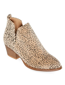 Cl By Laundry Womens Cicie Stacked Heel Booties by Cl By Laundry
