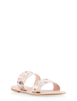 Two Band Slide Sandals | 3112004068345 by Rainbow