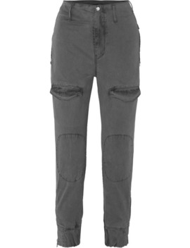 Harlan Stretch Cotton Twill Tapered Cargo Pants by Rt A