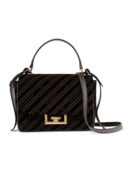 Eden Small Printed Velvet Shoulder Bag by Givenchy