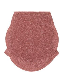 Ruffled Lurex Mini Skirt by Esteban Cortázar