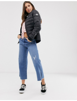 Hollister Padded Jacket In Black by Hollister