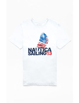 Nautica Sailing T Shirt by Pacsun