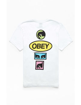 Obey Stacked T Shirt by Pacsun