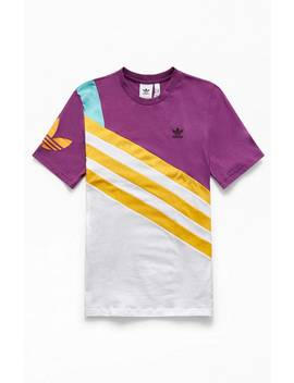 Adidas Sportive Nineties T Shirt by Pacsun