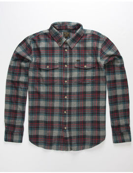 Dark Seas Awol Mens Flannel Shirt by Dark Seas