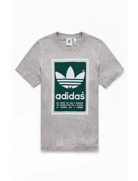 Adidas Heather Grey Archive Pantone T Shirt by Pacsun