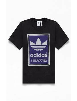 Adidas Black Archive Pantone T Shirt by Pacsun