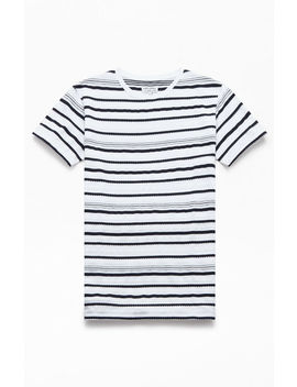 Banks Journal Waves Striped T Shirt by Pacsun