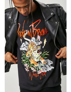 Reason Tiger Graphic Tee by Forever 21