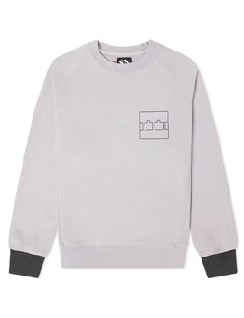 The Trilogy Tapes Block Crew Sweat by The Trilogy Tapes