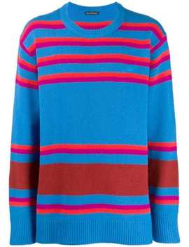 Striped Knit Sweater by Acne Studios