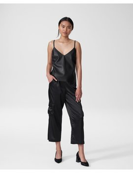 Fatima Vegan Leather Camisole by Universal Standard