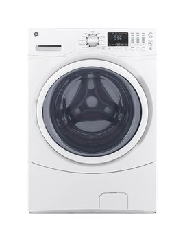 4.5 Cu. Ft. 10 Cycle Front Loading Washer   White On White by Ge