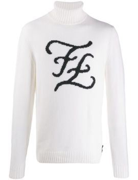 Ff Logo Jumper by Fendi