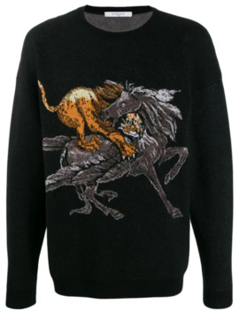 Animal Sweater by Givenchy