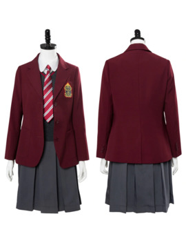 Lemony Snicket's A Series Of Unfortunate Events Violet Baudelaire School Uniform Dress Cosplay Costume by Ali Express.Com