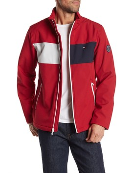 Colorblock Zip Front Jacket by Tommy Hilfiger