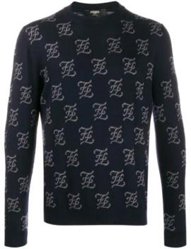 Ff Knit Sweater by Fendi