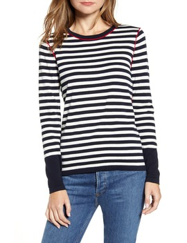 Stripe Crewneck Sweater by Tommy Hilfiger