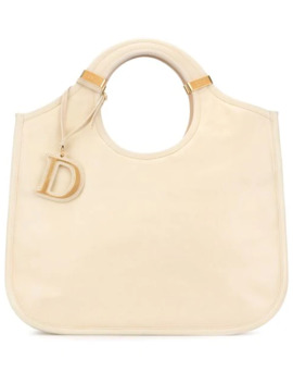 Square Tote by Christian Dior Pre Owned