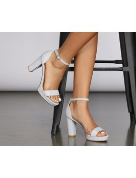 Gaga For Glam Platfrom Heels by Windsor