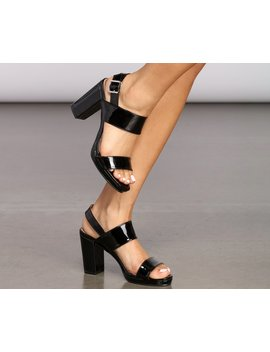 Sling Back Block Heels by Windsor