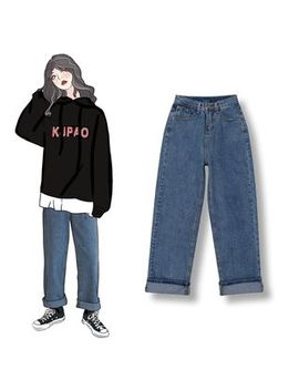 Demain   Crop Straight Fit Jeans by Demain