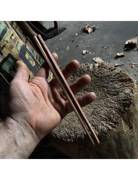 """10"""" Wooden Chopsticks, Hand Carved By The Large Apprentice by Etsy"""