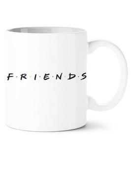 Friends 20oz Ceramic Logo Mug White by Silver Buffalo