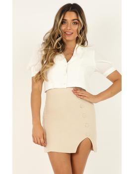 Like A Heartbeat Top In White by Showpo Fashion