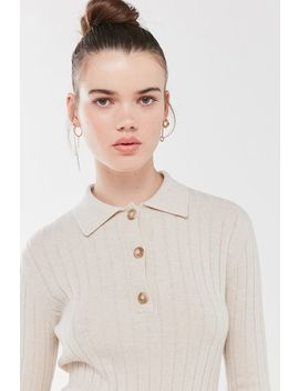 Rita Row Long Sleeve Polo Shirt by Rita Row
