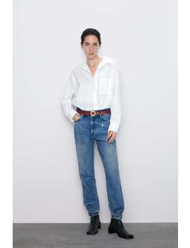 Relaxed Fit Torn Jeans  New Inwoman by Zara
