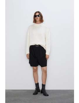 Pleated Shorts  New Inwoman by Zara