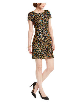 Sequin Leopard Print Dress by General