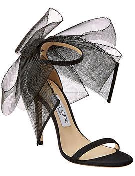 Jimmy Choo Aveline 100 Asymmetric Grosgrain Sandal by Jimmy Choo