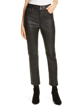 Shiloh Slim Leather Pants by Grlfrnd