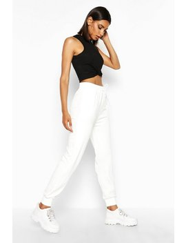 The Slim Leg Loopback Jogger by Boohoo