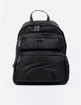 Tessuto Montagna Nylon Backpack by Prada