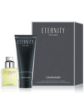Men's 2 Pc. Eternity For Men Eau De Toilette Gift Set by General