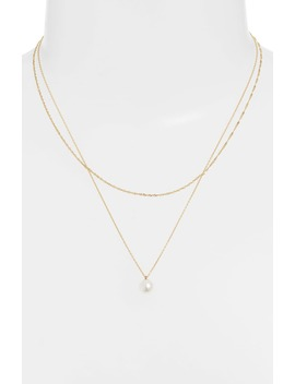 Pearl Layer Necklace by Poppy Finch