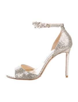 Tori 100 Glitter Sandals by Jimmy Choo