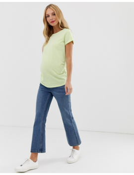 New Look Maternity – Grünes T Shirt by Asos