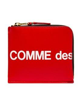 Comme Des Garcons Sa3100 Hl Huge Logo Wallet by Comme Des Garçons