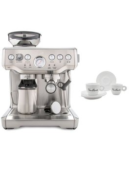 Breville Bes870 Xl Barista Express Espresso Machine Includes 4 Espresso Cups by Breville