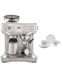 Breville Bes870 Xl Barista Express Espresso Machine Includes 4 Espresso Cups by Breville