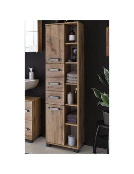 Albury 41.9 X 163.7cm Tall Bathroom Cabinet by Rebrilliant