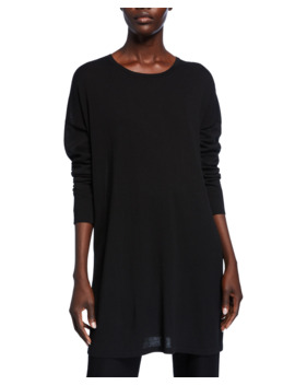 Lightweight Long Sleeve Tunic by Eileen Fisher