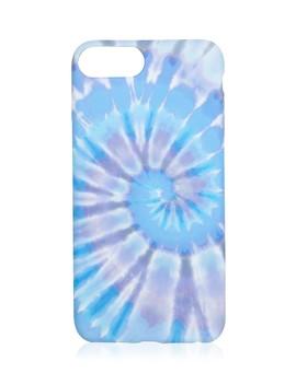 6+/7+/8+ Purple Tie Dye Phone Case by Sportsgirl