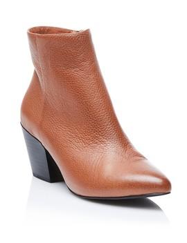 Carlo Leather Block Heel Boot by Sportsgirl